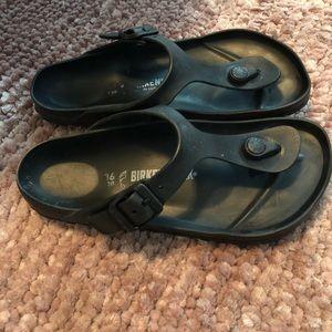 Rubber Birkenstock Sandals